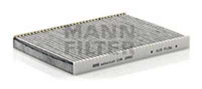 CUK2882 MANN-FILTER Фильтр, воздух во внутренном пространстве