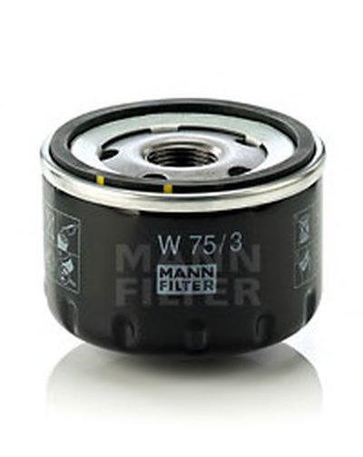 W753 MANN-FILTER Масляный фильтр