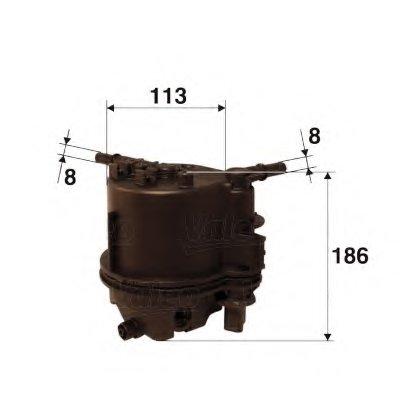 587504 VALEO Топливный фильтр