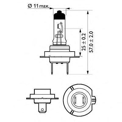 Лампа накаливания, фара дальнего света; Лампа накаливания, основная фара; Лампа накаливания, противотуманная фара; Лампа накаливания; Лампа накаливания, основная фара; Лампа накаливания, фара дальнего света; Лампа накаливания, противотуманная фара; Лампа накаливания, фара с авт. системой стабилизации; Лампа накаливания, фара с авт. системой стабили VisionPlus PHILIPS купить