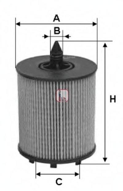 S5024PE SOFIMA Масляный фильтр