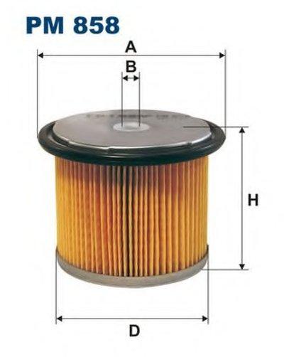 PM858 FILTRON Топливный фильтр