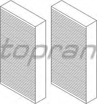 407738 TOPRAN Фильтр, воздух во внутренном пространстве
