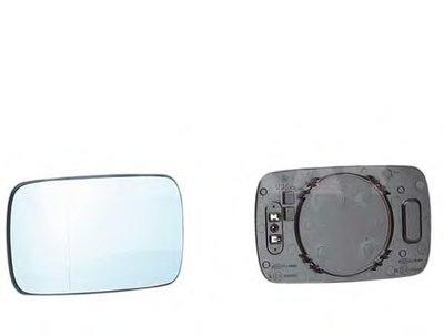Стекло зеркала прав. с пласт. держателем, с подогревом