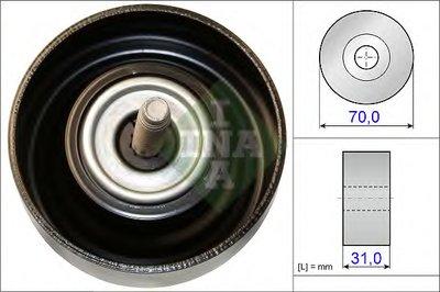 Ролик INA INA 532061410 для авто CHEVROLET, OPEL, SAAB с доставкой