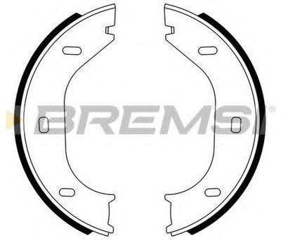 Комплект тормозных колодок, стояночная тормозная система BREMSI купить