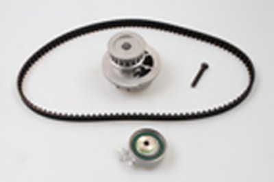Водяной насос + комплект зубчатого ремня 111з. / 17mm OPEL ASTRA F/G/ CORSA A/B (Пр-во Metelli)