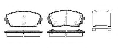 Колодки Торм.диск. Picanto 1.01.0 Bi-Fuel1.2 (11-) ROADHOUSE 2148102 для авто KIA с доставкой