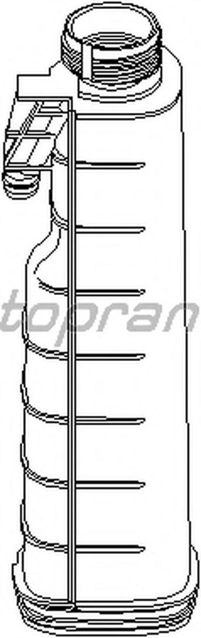Компенсационный бак, охлаждающая жидкость TOPRAN купить