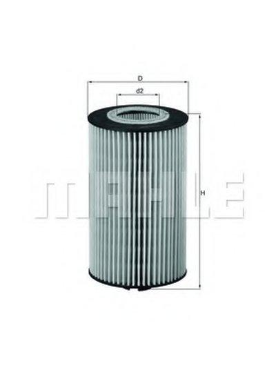 OX161D KNECHT Масляный фильтр