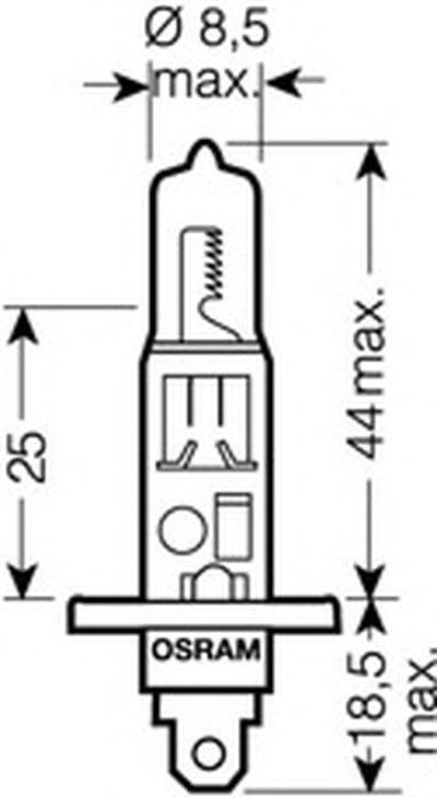 Лампа накаливания, фара дальнего света; Лампа накаливания, основная фара; Лампа накаливания, противотуманная фара; Лампа накаливания, основная фара; Лампа накаливания, фара дальнего света; Лампа накаливания, противотуманная фара; Лампа накаливания, фара с авт. системой стабилизации; Лампа накаливания, фара с авт. системой стабилизации OSRAM NIGHT BREAKER® UNLIMITED OSRAM купить