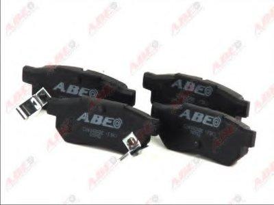 Комплект тормозных колодок, дисковый тормоз ABE купить