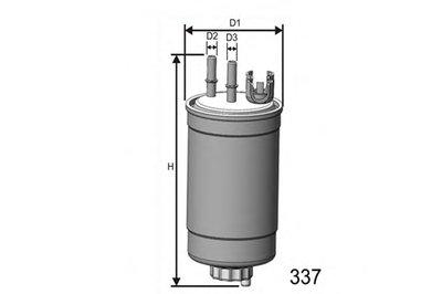 M409 Фильтр Топливный MISFAT M409 для авто FORD с доставкой