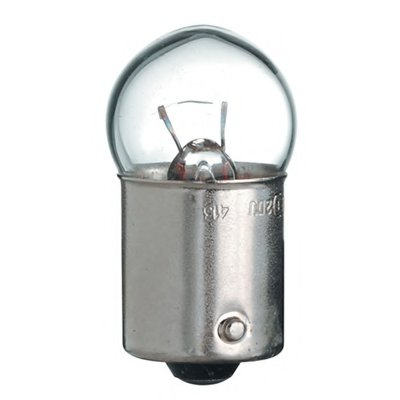 Лампа накаливания, фонарь указателя поворота; Лампа накаливания, фонарь сигнала торможения; Лампа накаливания, фонарь освещения номерного знака; Лампа накаливания, задняя противотуманная фара; Лампа накаливания, фара заднего хода; Лампа накаливания, задний гарабитный огонь; Лампа накаливания, oсвещение салона; Лампа накаливания, фонарь освещения ба base type GE купить