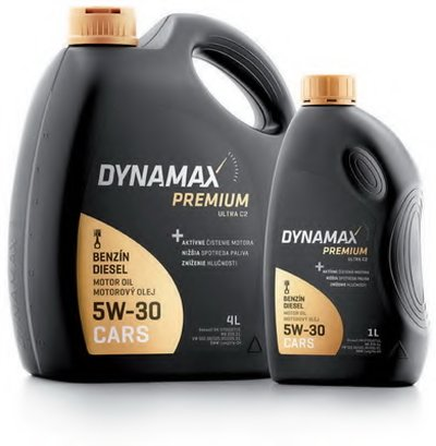 Моторное масло; Моторное масло DYNAMAX PREMIUM ULTRA C2 5W-30 DYNAMAX купить