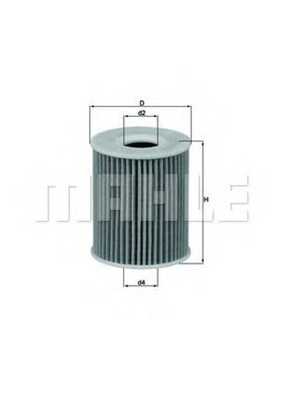 OX424D KNECHT Масляный фильтр
