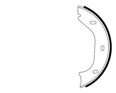 Комплект тормозных колодок, стояночная тормозная система HELLA PAGID купить