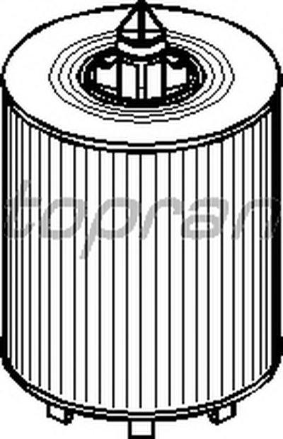 206546 TOPRAN Масляный фильтр