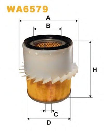WA6579 WIX FILTERS Воздушный фильтр -1
