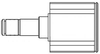 661011 GSP Шарнирный комплект, приводной вал