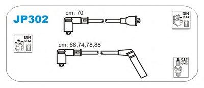 Дроти В/В Mitsubishi Colt/Lancer 86-92 JANMOR JP302 для авто MITSUBISHI с доставкой