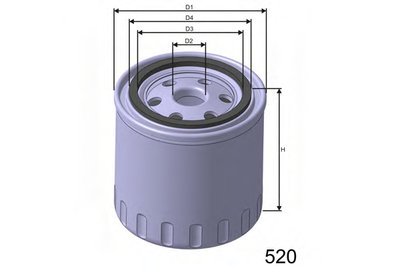 Z290 MISFAT Масляный фильтр