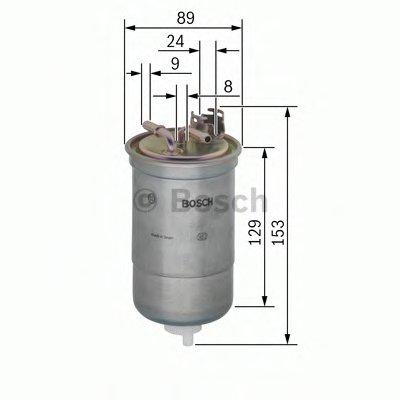 0450906334 BOSCH Топливный фильтр