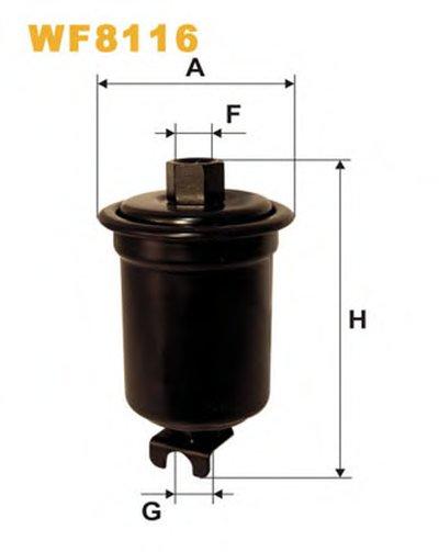 WF8116 WIX FILTERS Топливный фильтр-1