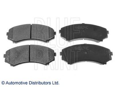 ADC44261 BLUE PRINT Комплект тормозных колодок, дисковый тормоз