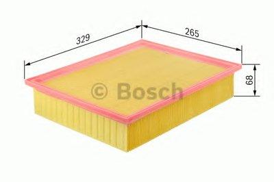 BOSCH 1457433075 Фильтр воздушный