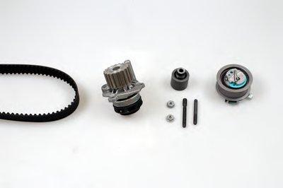 HEPU PK05510 Комплект ГРМ, пас+ролик+помпа