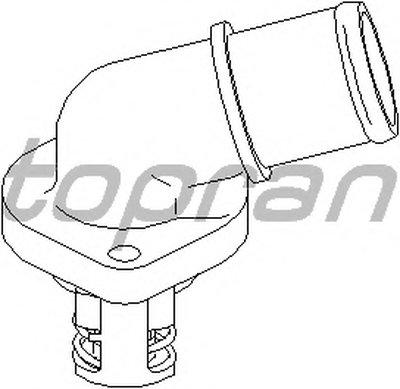 Термостат, охлаждающая жидкость TOPRAN купить