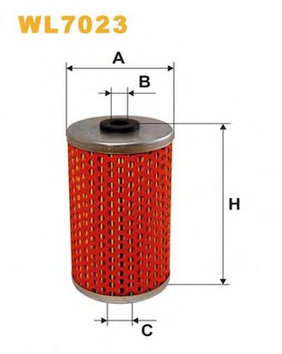 WL7023 WIX FILTERS Масляный фильтр -1