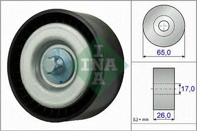 Ролик Поликлинового Ремня Направляющий INA 532077710 для авто MERCEDES-BENZ с доставкой