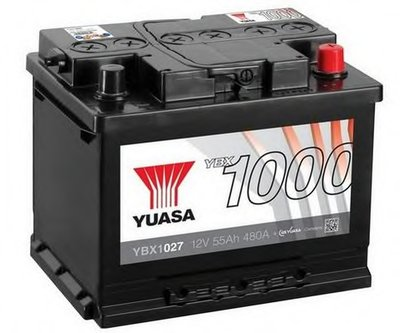 Стартерная аккумуляторная батарея YBX1000 CaCa Batteries YUASA купить