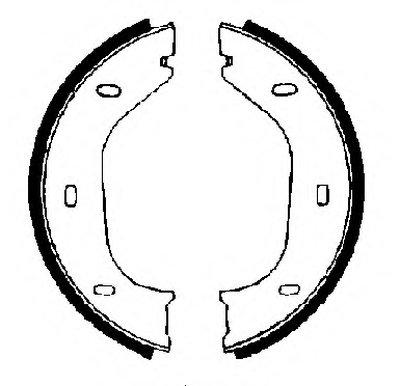 Комплект тормозных колодок, стояночная тормозная система FTE купить