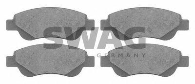 Комплект тормозных колодок, дисковый тормоз SWAG купить