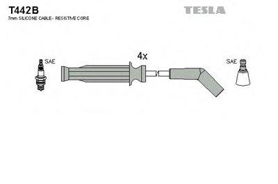Комплект проводов зажигания TESLA купить