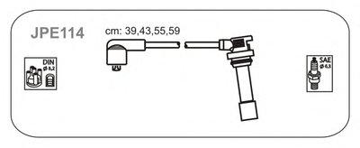Провод В/В Mazda 323 1.5 94- JANMOR JPE114 для авто MAZDA с доставкой