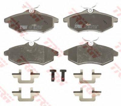 GDB1495 TRW Комплект тормозных колодок, дисковый тормоз-1