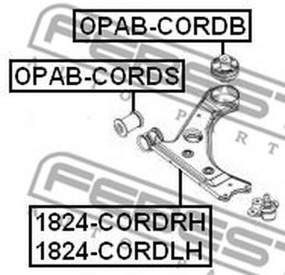 Рычаг Передний Левый FEBEST 1824CORDLH для авто  с доставкой-1