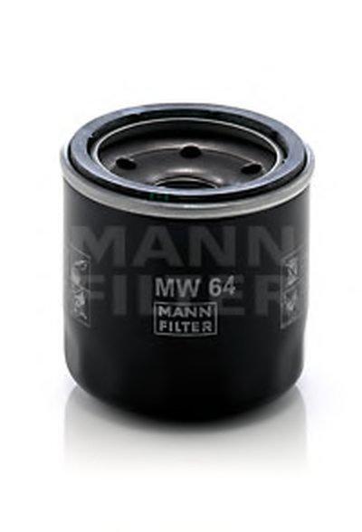 MW64 MANN-FILTER Масляный фильтр