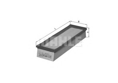 LX541 KNECHT Воздушный фильтр