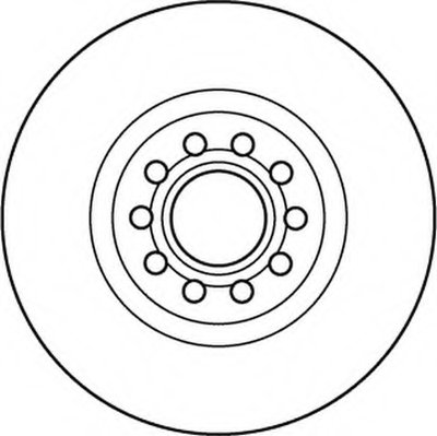 Тормозные диски (пр-во Jurid)