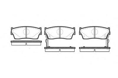 Колодки Торм.дисковые ROADHOUSE 228902 для авто GEO, SUZUKI с доставкой