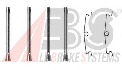 Комплектующие, колодки дискового тормоза A.B.S. купить