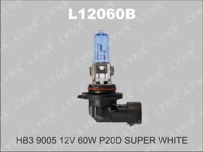 Лампа накаливания, фара дальнего света; Лампа накаливания, основная фара; Лампа накаливания, противотуманная фара SUPER WHITE LYNXauto купить