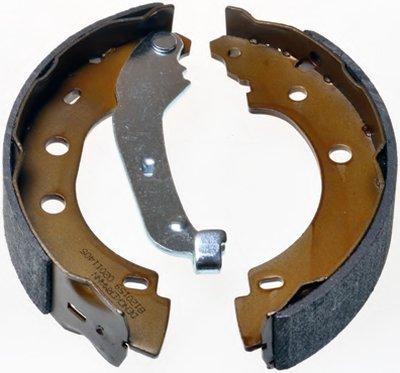 B120159 DENCKERMANN (203x38) Барабанні гальм.колодки задні Renault Kangoo 1.9TDi 00-
