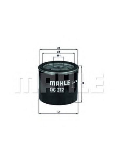 OC272 KNECHT Масляный фильтр