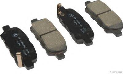 Колодки тормозные дисковые передние NISSAN (пр-во Jakoparts)